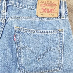 Levi's Red Tab 505 Shorts